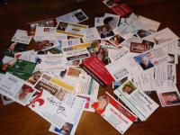 Twee eenvoudige manieren om visitekaartjes na jouw lezing te krijgen