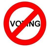 Democratie? Jaaa…Stemmen?….Mwah